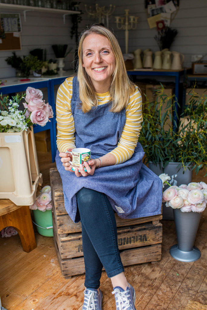 Suzi Horrocks, wedding and events florist